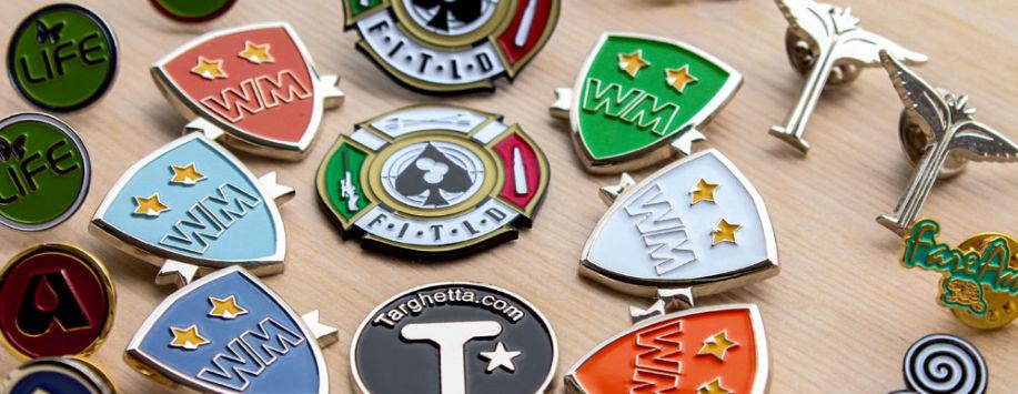 The Italian Custom Lapel Pins
